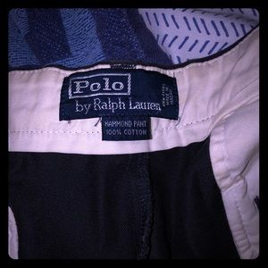 Ralph Lauren Polo Black Chino pants
